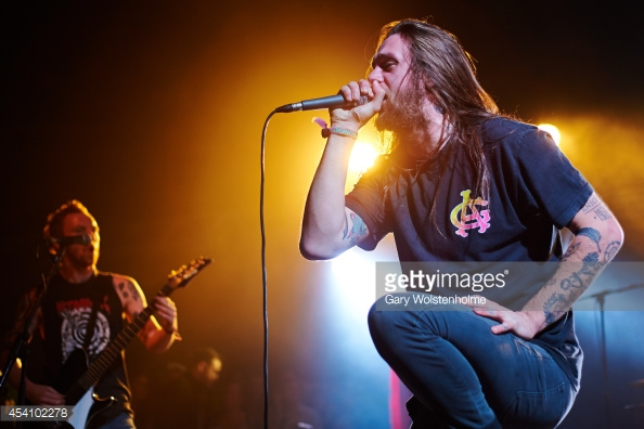 WHILE SHE SLEEPS PLAY OXFORD'S O2 ACADEMY 2 - 27/04/2017  PICTURE BY: GARY WOLSTENHOLME - GETTY IMAGES