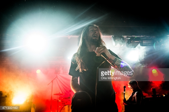 WHILE SHE SLEEPS PLAY OXFORD'S O2 ACADEMY 2 - 27/04/2017  PICTURE BY: OLLIE MILLINGTON - GETTY IMAGES