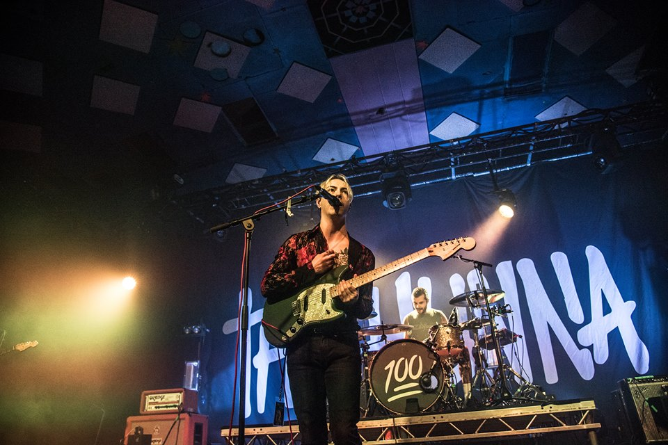 THE HUNNA PERFORMING AT GLASGOW'S BARROWLANDS - 30/04/2017  PICTURE BY: OWEN MELDRUM + CALUM BUCHAN PHOTOGRAPHY