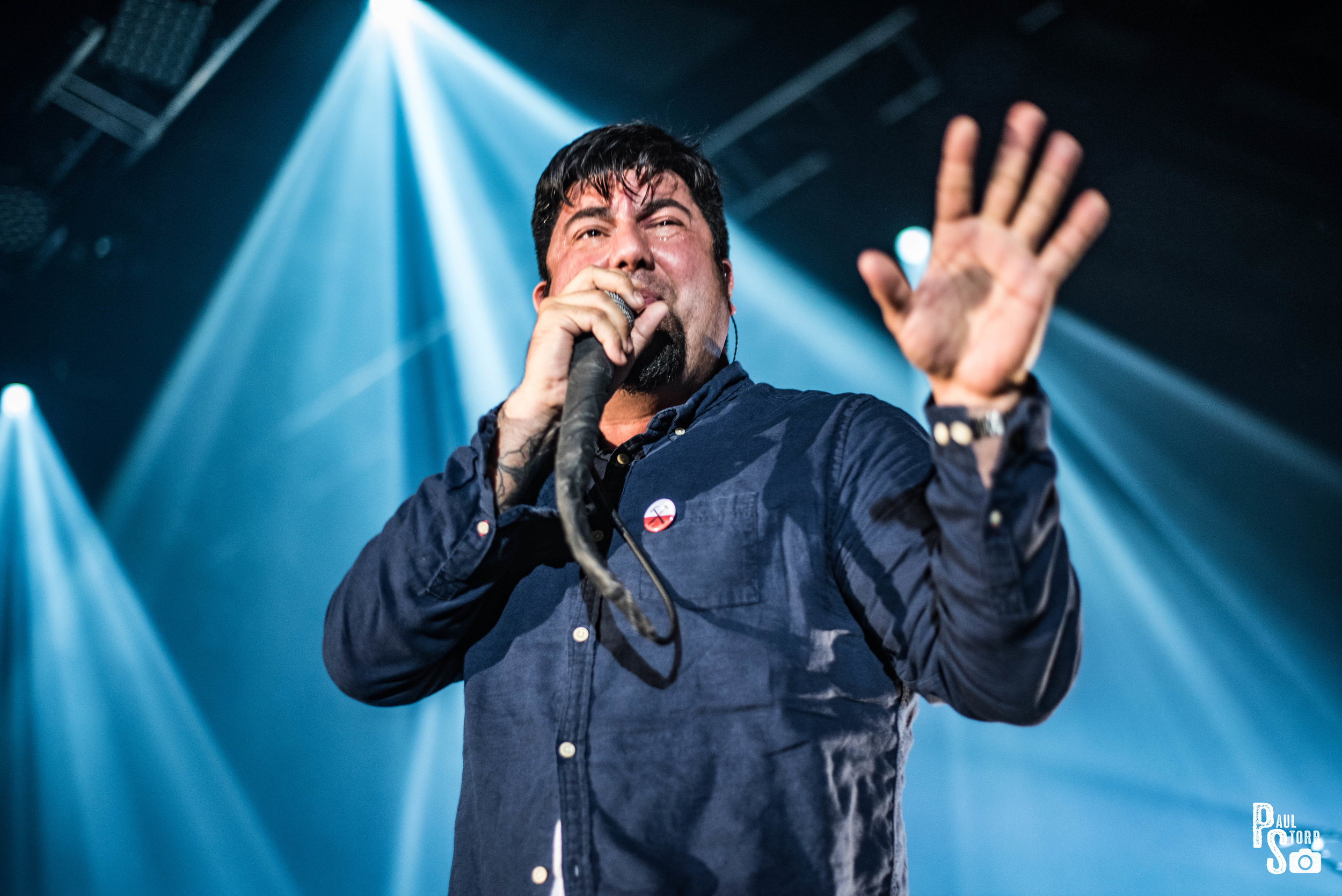 DEFTONES PERFORMING AT GLASGOW'S SEC HALL 3 - 07.05.2017  PICTURE BY: PAUL STORR PHOTOGRAPHY