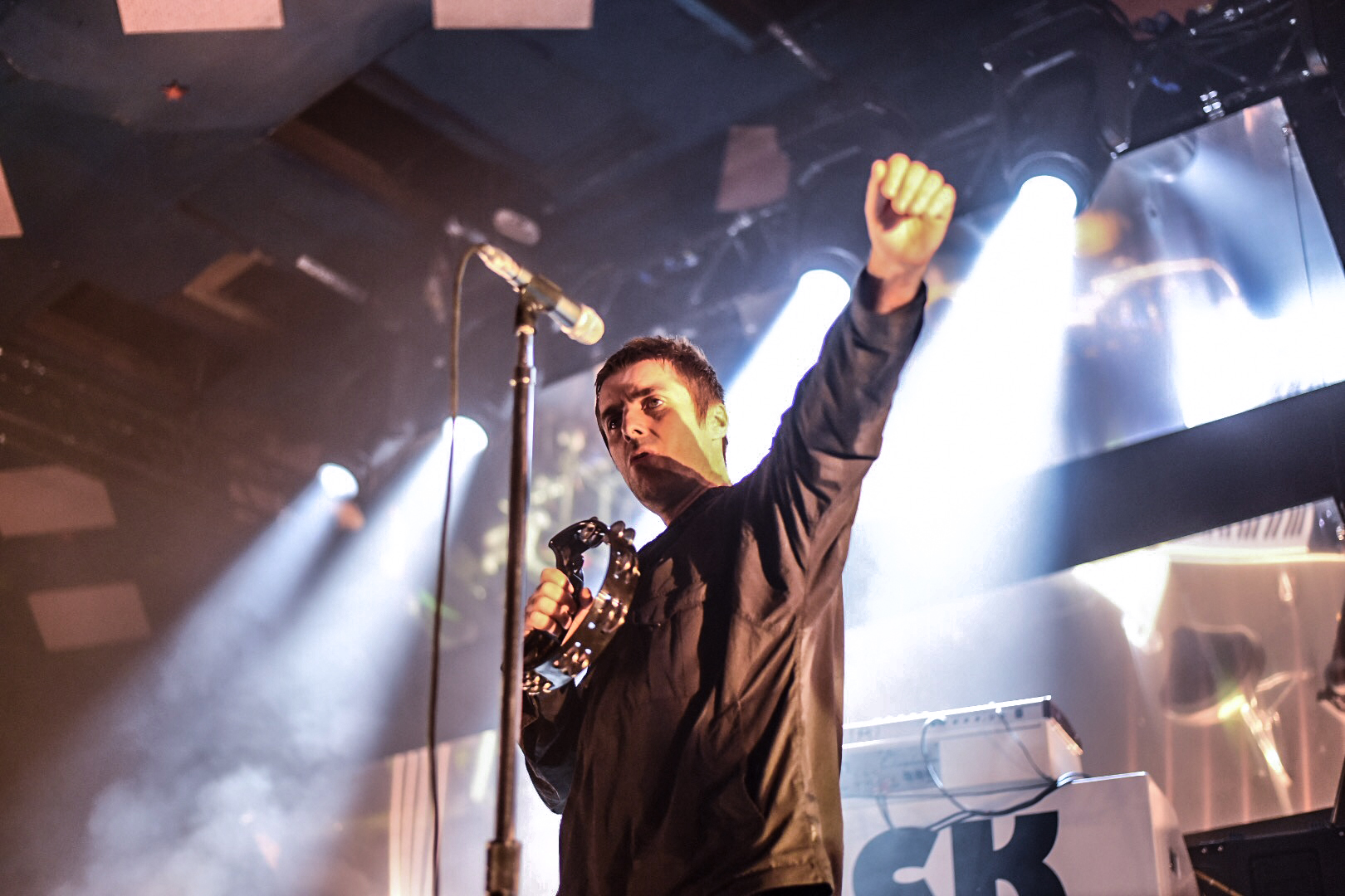 14 - Liam Gallagher performing to Sold Out Crowd at Glasgow's Barrowlands as part of As You Were Tour - 11-06-2017 - Pic By - Calum Buchan Photography - Copy.jpg