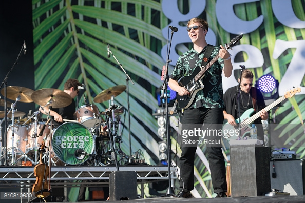 GEORGE EZRA PERFORMING TRNSMT FEST 2017 IN GLASGOW - 08/07/2017  PICTURE BY: ROBERTO RICCIUTI - GETTY IMAGES