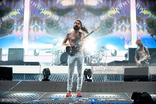 BIFFY CLYRO PERFORMING TRNSMT FEST 2017 IN GLASGOW - 09/07/2017  PICTURE BY: ANDY BUCHANAN - GETTY IMAGES