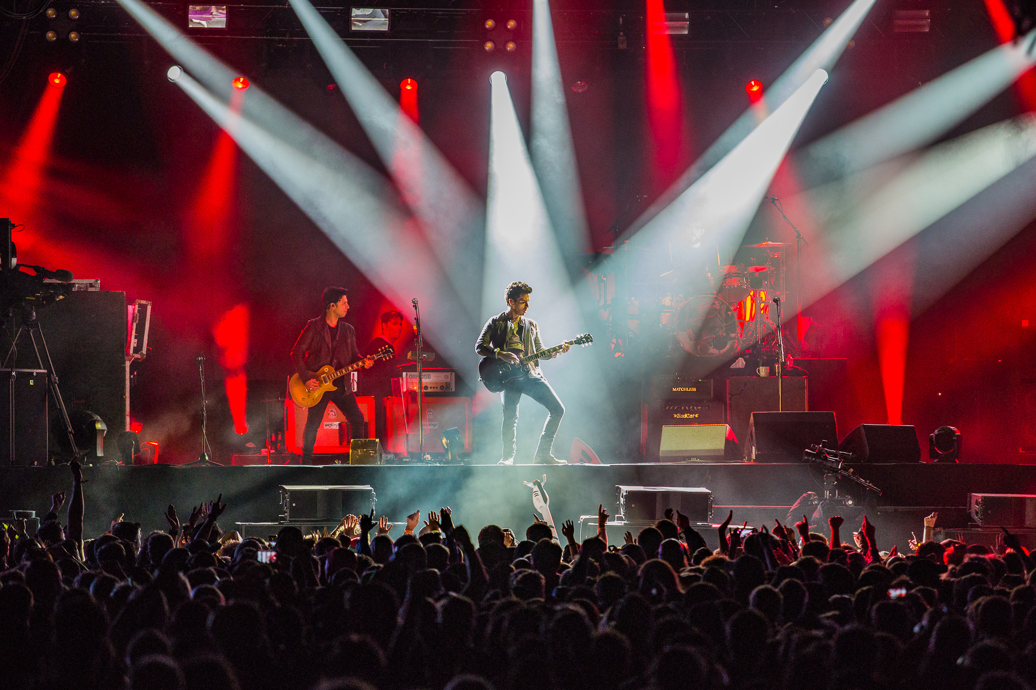 STEREOPHONICS CLOSING FRIDAY NIGHT AT KENDAL CALLING 2017 - 28/07/2017  PICTURE BY: JODY HARTLEY