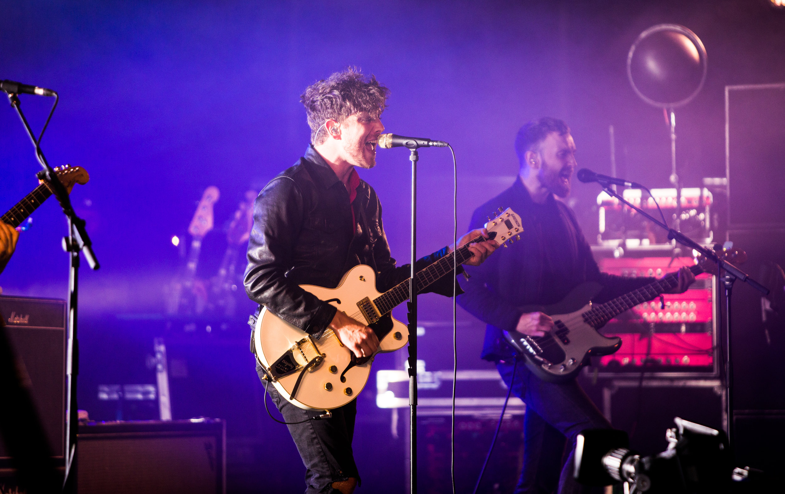 TWIN ATLANTIC PERFORMING AT BELLADRUM TARTAN HEART FESTIVAL 2017 - 04/08/2017  PICTURE BY: FINDLAY MACDONALD PHOTOGRAPHY