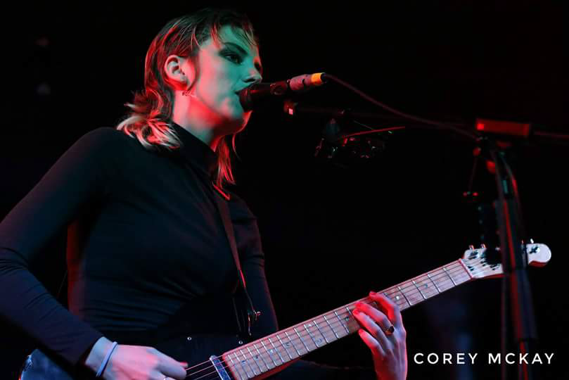 WOLF ALICE PERFORMING AT DUNDEE'S FAT SAMS - 18/08/2017
