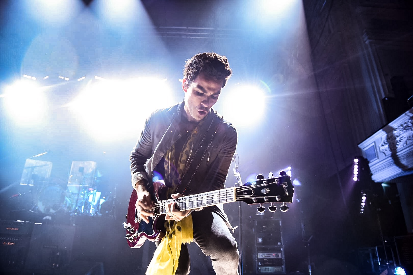 KELLY JONES OF STEREOPHONICS PERFORMING AT DUNDEE'S CAIRD HALL - 22/08/2017  PICTURE BY: CALUM BUCHAN PHOTOGRAPHY