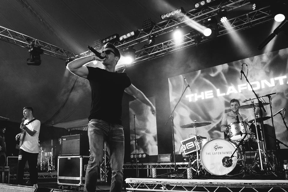 THE LAFONTAINES PERFORMING ON BBC RADIO 1 XTRA STAGE AT LEEDS FESTIVAL 2017 - 25/08/2017  PICTURE BY: CAMERON BRISBANE PHOTOGRAPHY