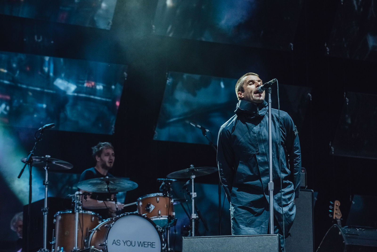 LIAM GALLAGHER PERFORMING AT LEEDS FESTIVAL 2017 - 25/08/2017  PICTURE BY: BEN BENTLEY
