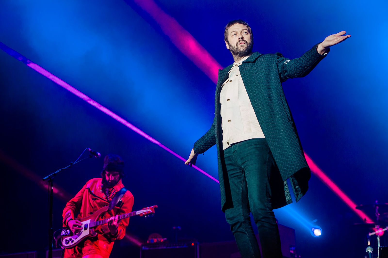 KASABIAN HEADLINING DAY TWO AT LEEDS FESTIVAL 2017 - 26/08/2017  PICTURE BY: MATT EACHUS