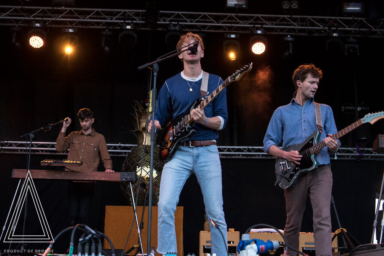 GLASS ANIMALS PERFORMING AT DAY TWO OF ELECTRIC FIELDS FESTIVAL 2017 - 02/09/2017