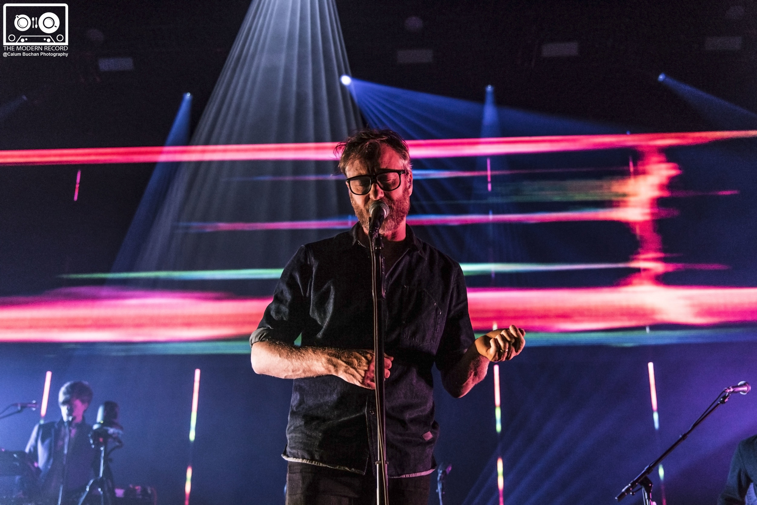 THE NATIONAL PLAYING FIRST OF TWO SOLD OUT SHOWS AT EDINBURGH'S USHER HALL - 20/09/2017  PICTURE BY: CALUM BUCHAN PHOTOGRAPHY