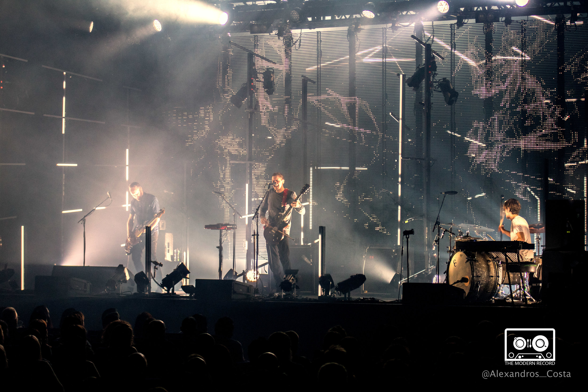 SIGUR RÓS PERFORMING AT GLASGOW'S SEC ARMADILLO - 25/09/2017  PICTURE BY: ALEXANDROS COSTA PHOTOGRAPHY
