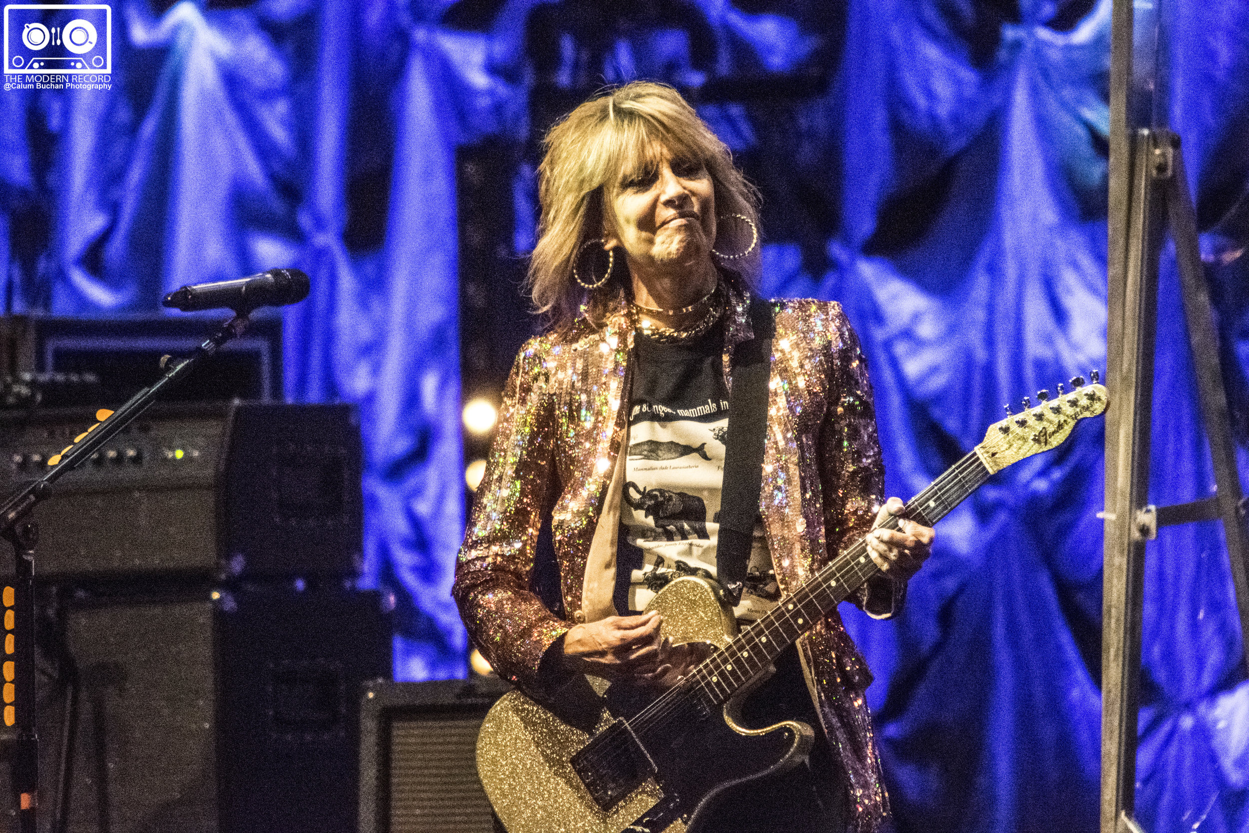 THE PRETENDERS ROCKING EDINBURGH'S USHER HALL AS PART OF THEIR 2017 UK TOUR - 03/10/2017  PICTURE BY: CALUM BUCHAN PHOTOGRAPHY