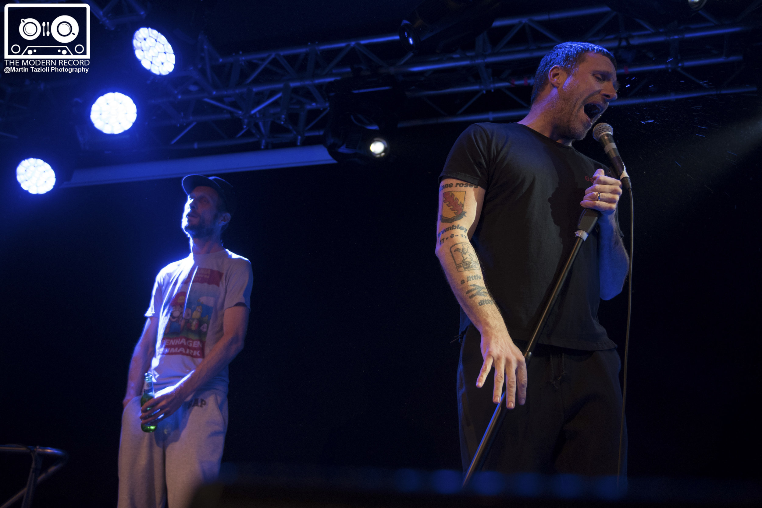 SLEAFORD MODS PERFORMING AT EDINBURGH'S LIQUID ROOMS - 06/10/2017  PICTURE BY: MARTIN TAZIOLI PHOTOGRAPHY