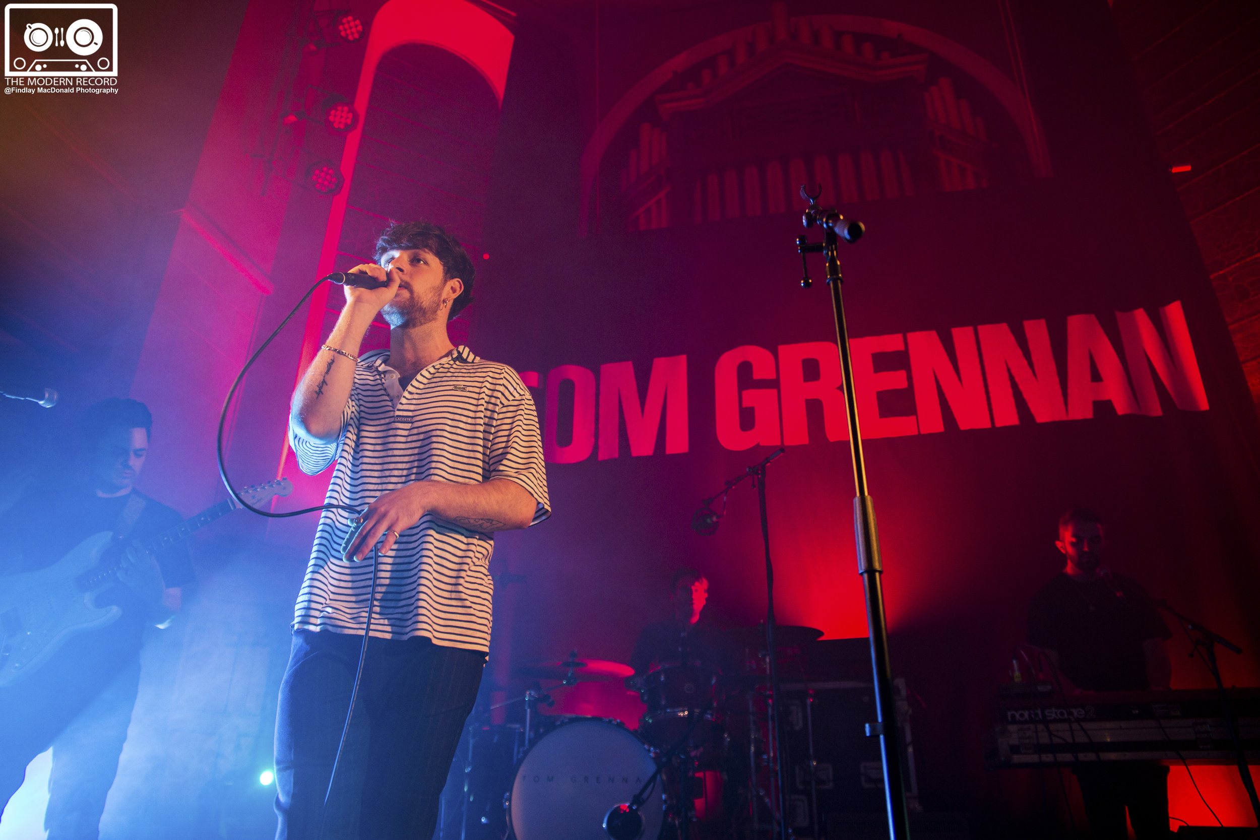 TOM GRENNAN PERFORMING AT GLASGOW'S ST LUKE'S VENUE - 07/10/2017  PICTURE BY: FINDLAY MACDONALD PHOTOGRAPHY