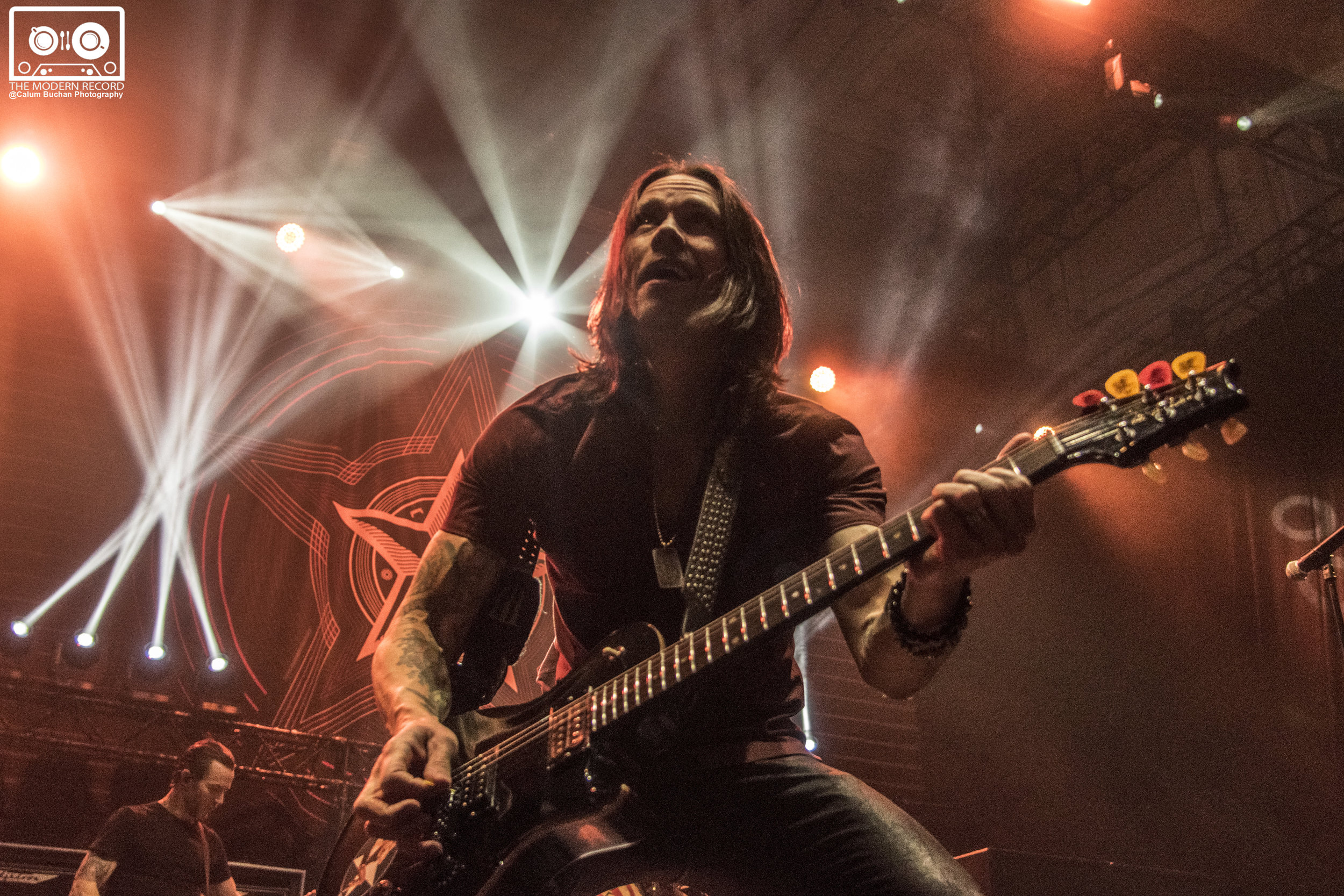 ALTER BRIDGE PLAYING SOLD OUT SHOW AT EDINBURGH'S USHER HALL - 05/10/2017  PICTURE BY: CALUM BUCHAN PHOTOGRAPHY