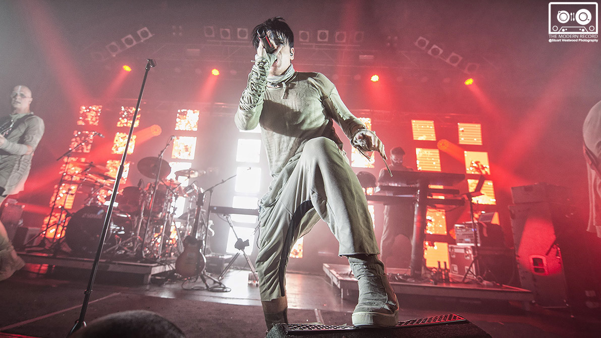 GARY NUMAN PERFORMING TO SOLD OUT CROWD AT GLASGOW'S O2 ABC- 10/10/2017  PICTURE BY: STUART WESTWOOD PHOTOGRAPHY