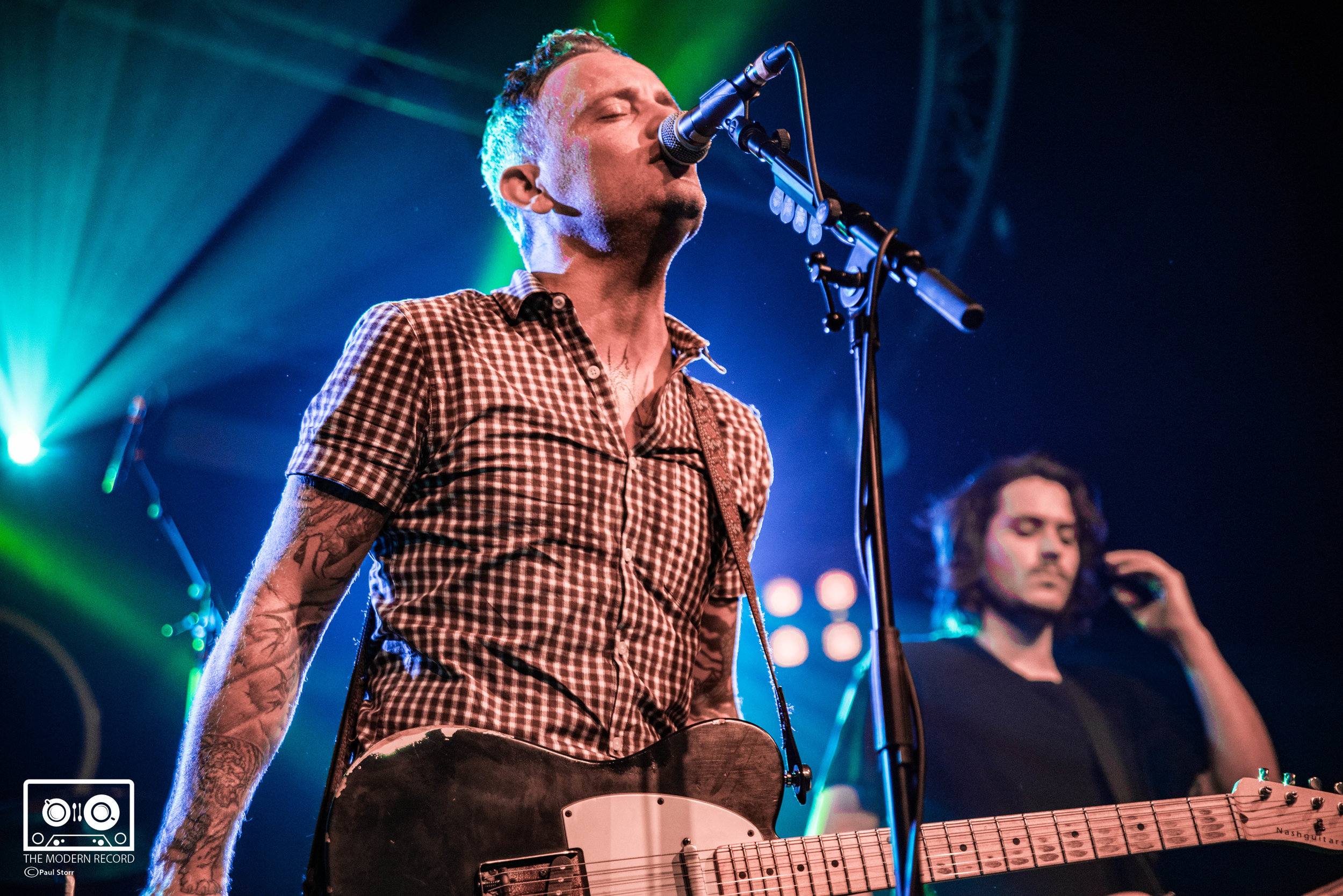 Dave Hause and the Mermaid, Glasgow Garage, 13-10-17-10.jpg