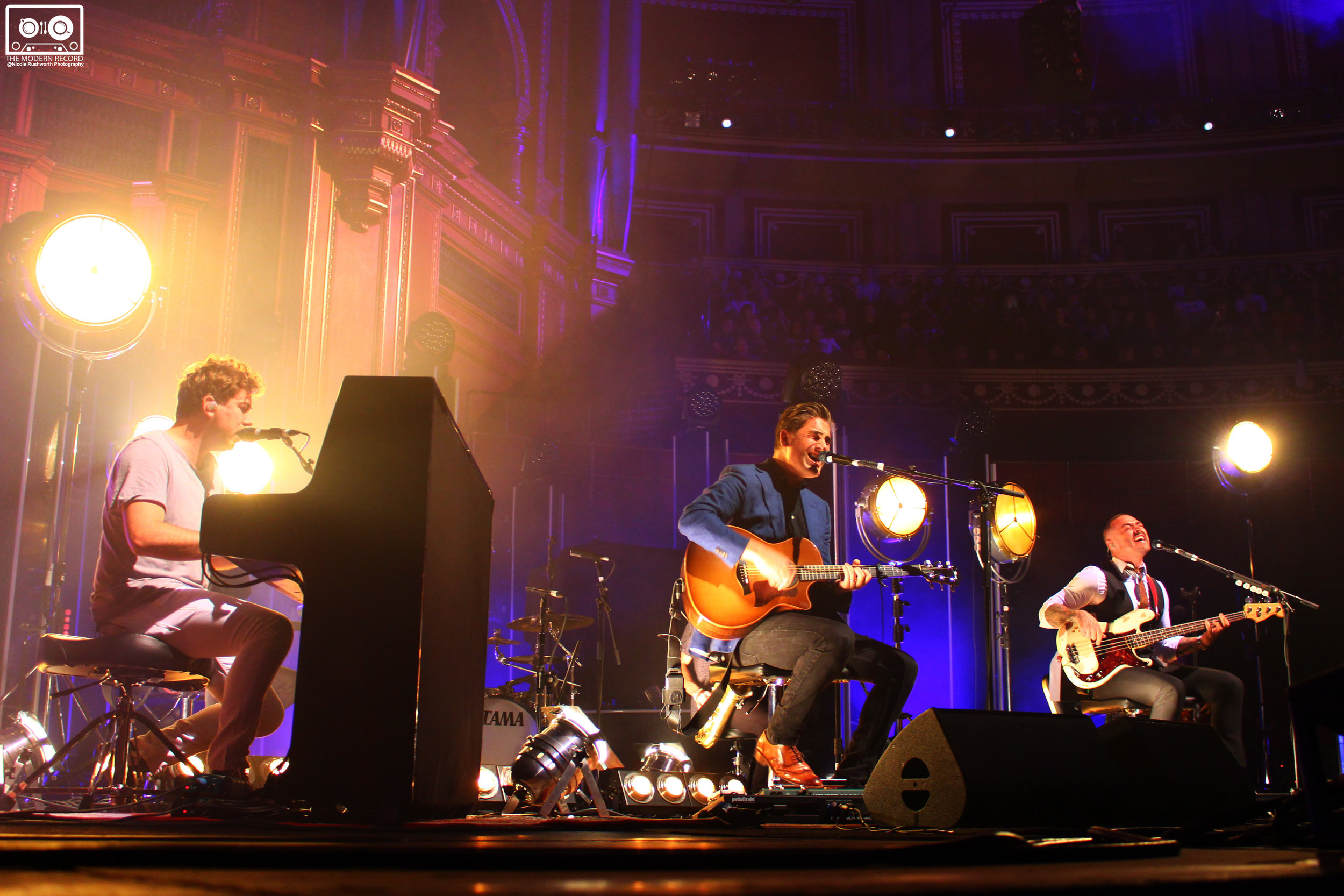 BUSTED PERFORMING DURING THEIR ACOUSTIC SET AT LONDON'S ROYAL ALBERT HALL - 17/10/2017  PICTURE BY: NICOLE RUSHWORTH PHOTOGRAPHY