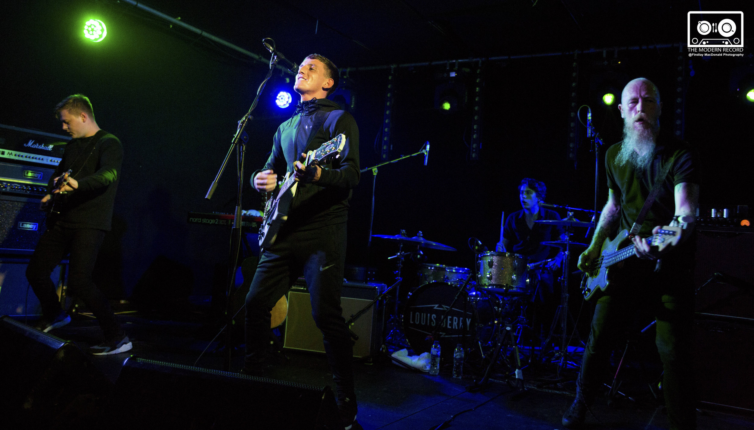 LOUIS BERRY PERFORMING AT EDINBURGH'S LA BELLE ANGELE - 21.10.2017  PICTURE BY: FINDLAY MACDONALD PHOTOGRAPHY