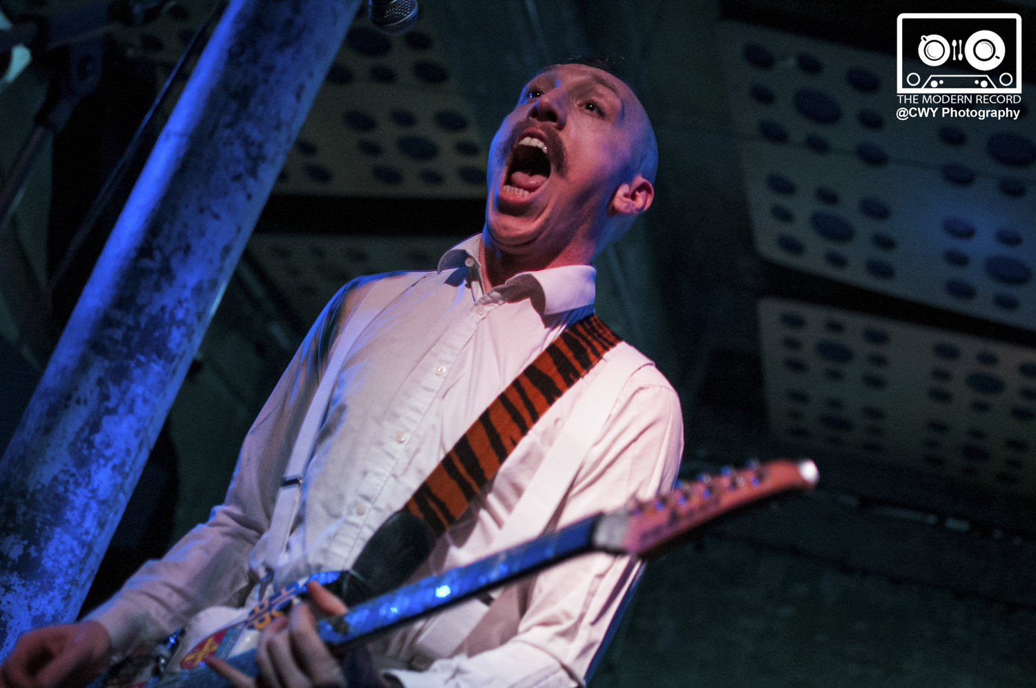 JAMIE LENMAN PERFORMING AT GLASGOW'S STEREO CAFE BAR - 02.02.2018  PICTURE BY: CWY PHOTOGRAPHY