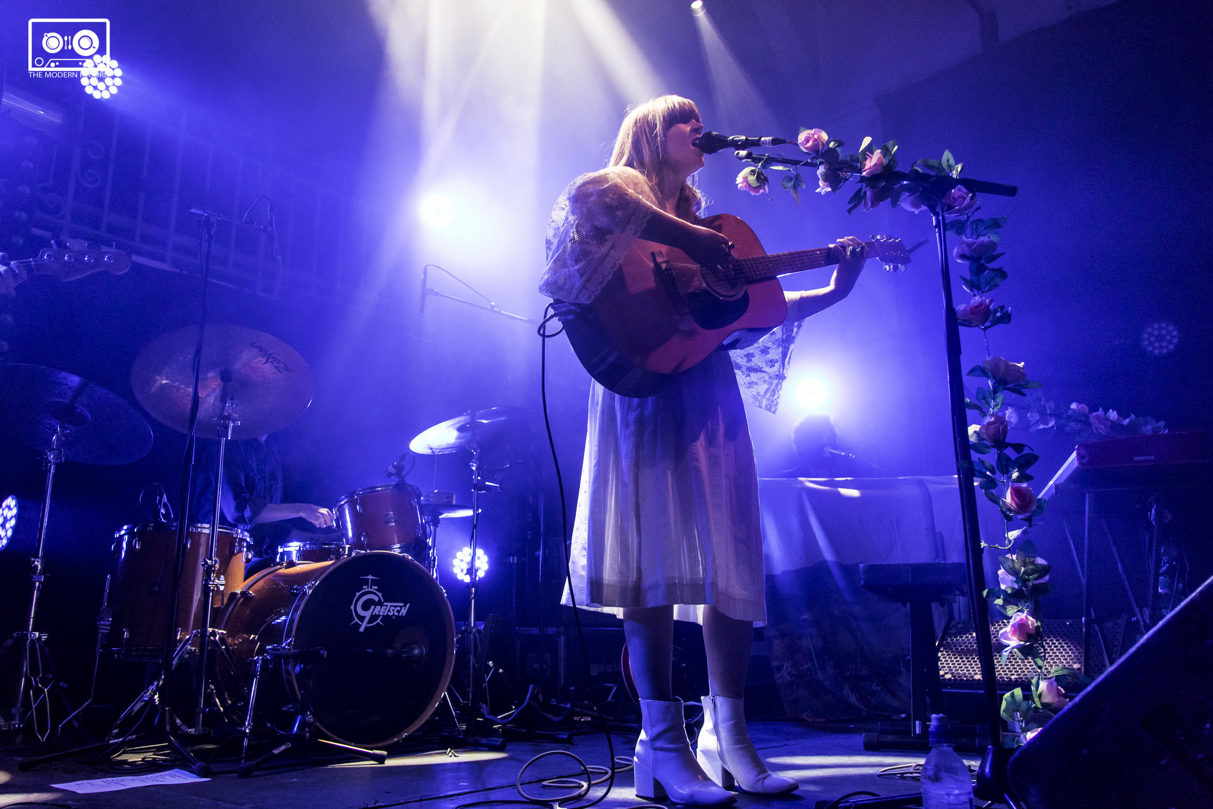 COURTNEY MARIE ANDREWS PERFORMING AT SUMMERHALL, EDINBURGH - 19.04.18  PICTURE: KENDALL WILSON PHOTOGRAPHY
