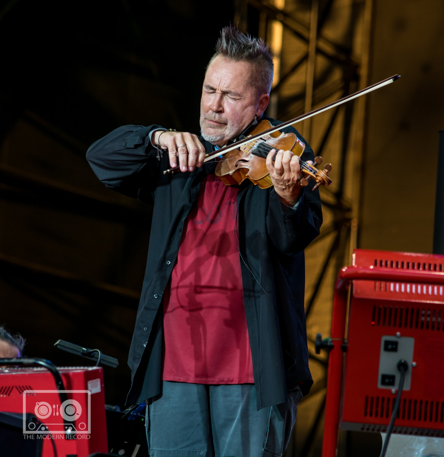 NIGEL KENNEDY CLOSING FIRST DAY AT BBC BIGGEST WEEKEND IN PERTH - 25.05.2018  PICTURE BY: STEPHEN WILSON PHOTOGRAPHY