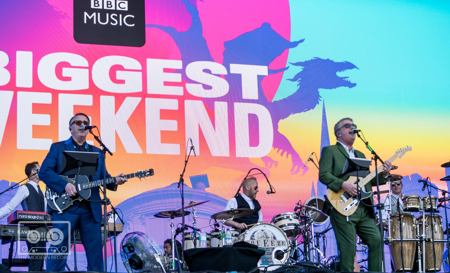 SQUEEZE OPENING UP DAY TWO OF BBC BIGGEST WEEKEND IN PERTH - 26.05.2018  PICTURE BY: STEPHEN WILSON PHOTOGRAPHY