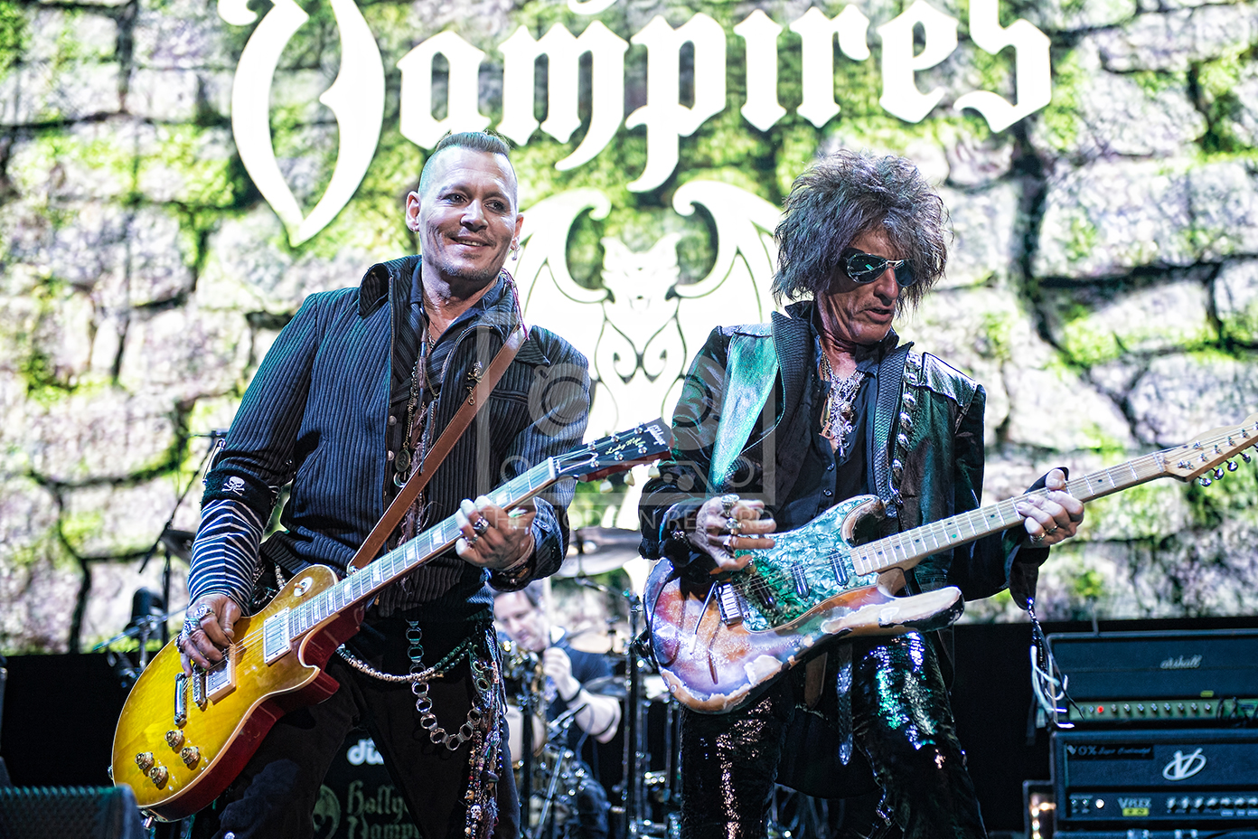 HOLLYWOOD VAMPIRES PERFORMING AT GLASGOW'S SSE HYDRO - 19,06.2018  PICTURE BY: STUART WESTWOOD PHOTOGRAPHY