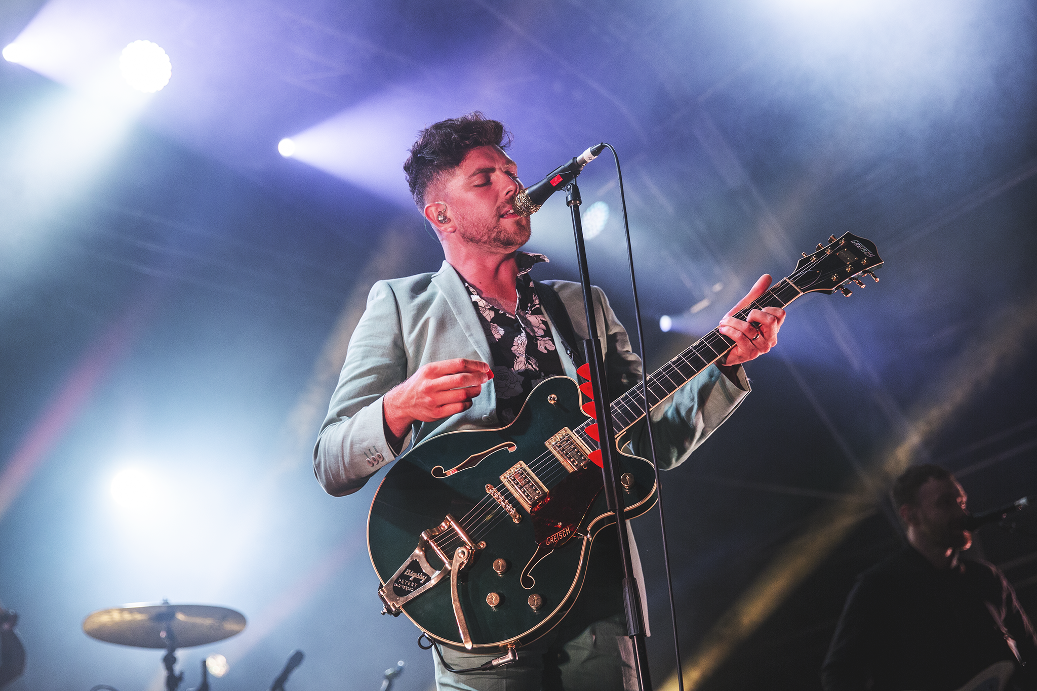 TWIN ATLANTIC CLOSING DAY TWO OF 2000TREES FESTIVAL - 13.07.2018  PICTURE BY: SEAN FRANCIS PHOTOGRAPHY
