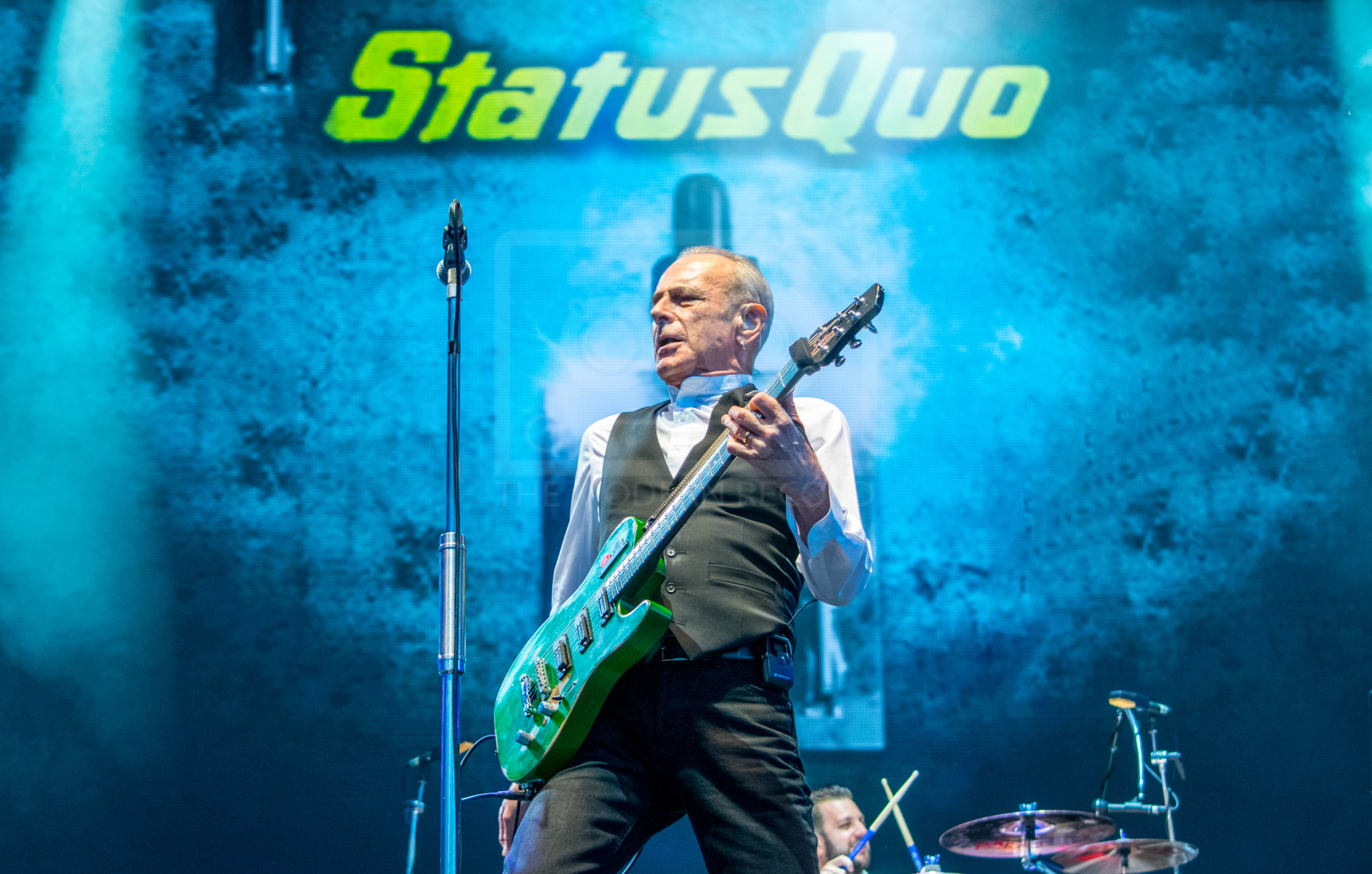 STATUS QUO PERFORMING AT REWIND! SCOTLAND - SUNDAY - 22.08.2018  PICTURE BY: STEPHEN WILSON PHOTOGRAPHY