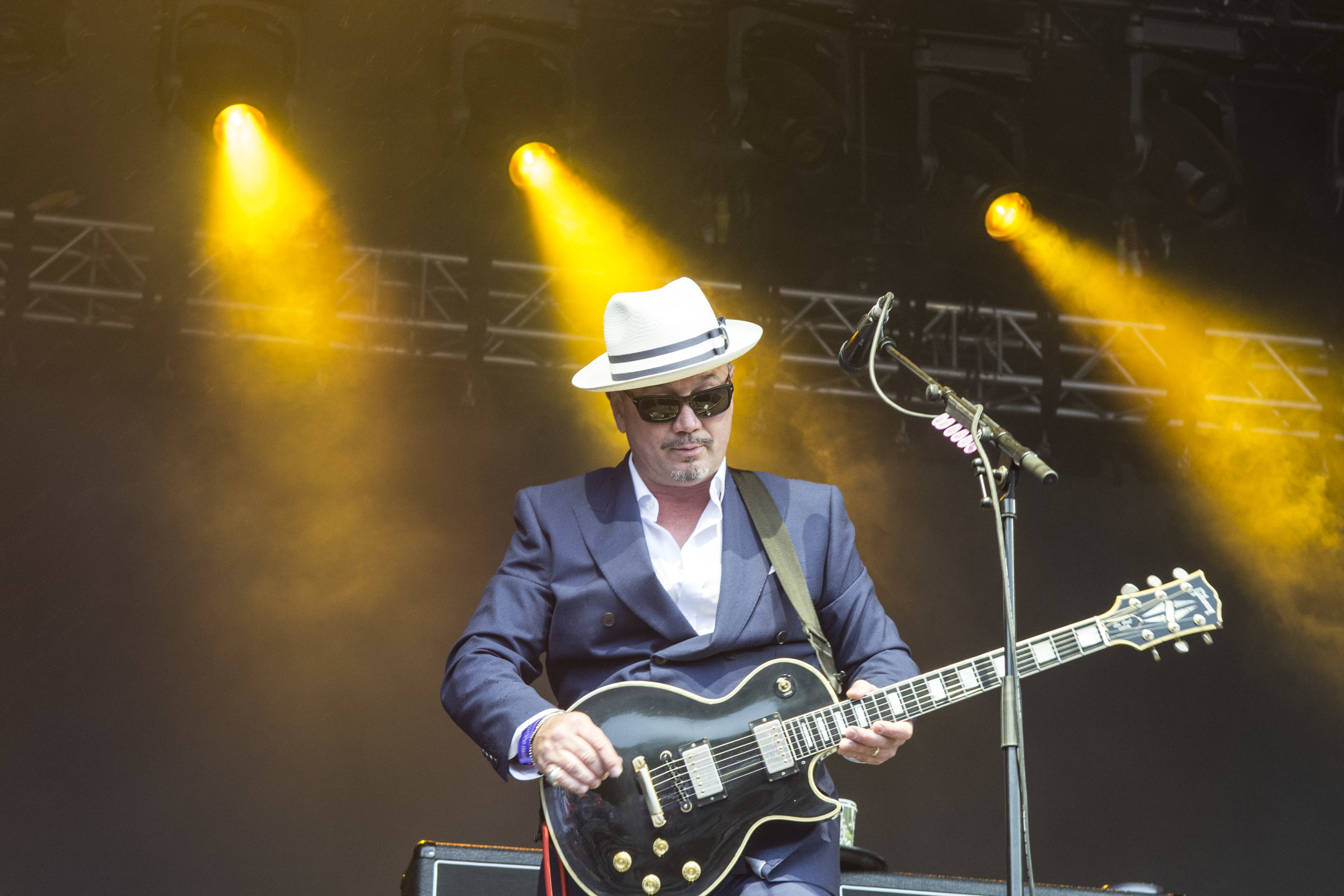 FUN LOVIN' CRIMINALS PERFORMING AT KENDALL CALLING FESTIVAL 2018  PICTURE BY: LEANNA TANNER PHOTOGRAPHY