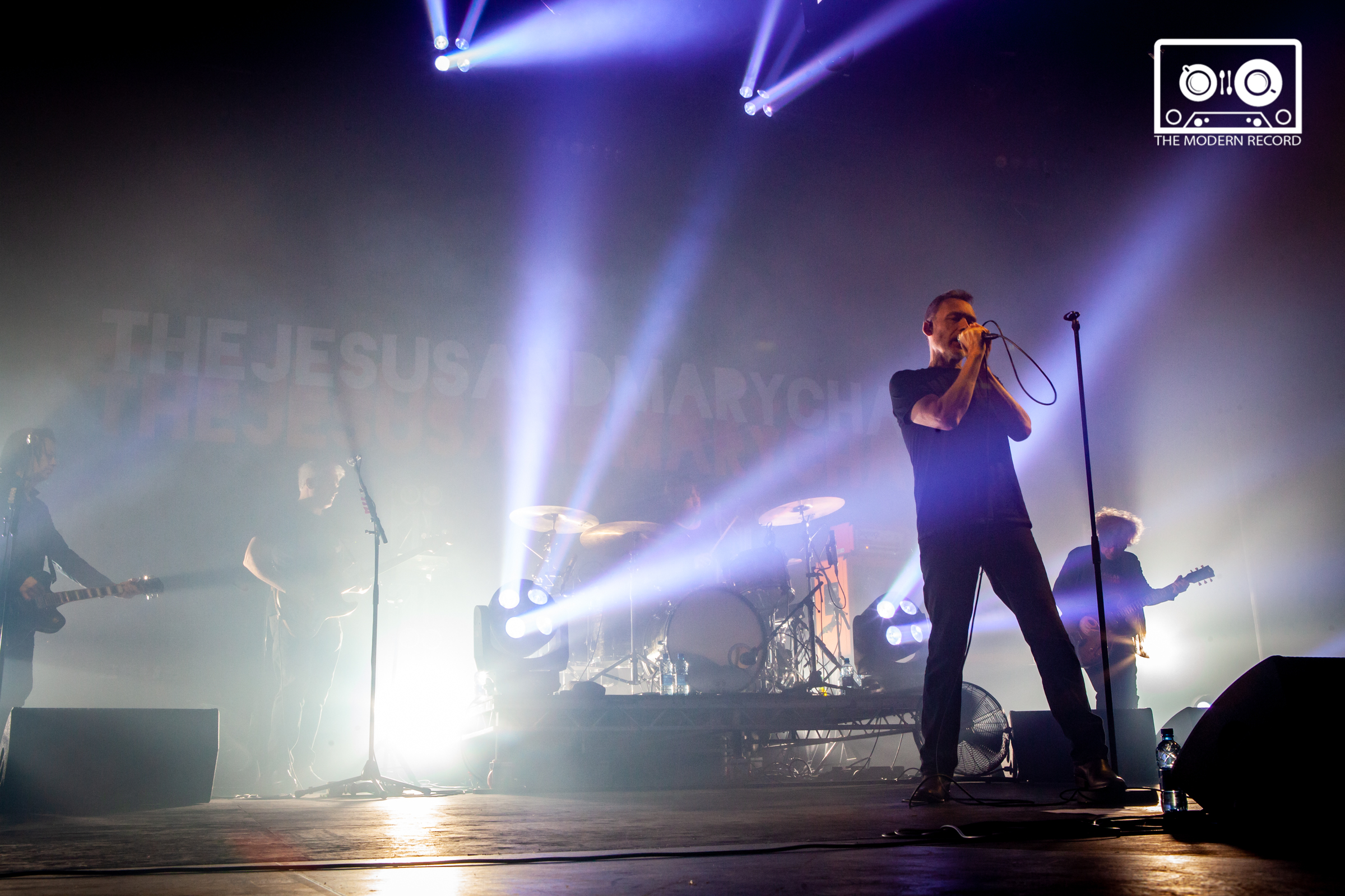 THE JESUS & THE MARY CHAIN PERFORMING AT LEITH THEATRE AS PART OF EDINBURGH'S INTERNATIONAL FESTIVAL - 14.08.2018  PICTURE BY: