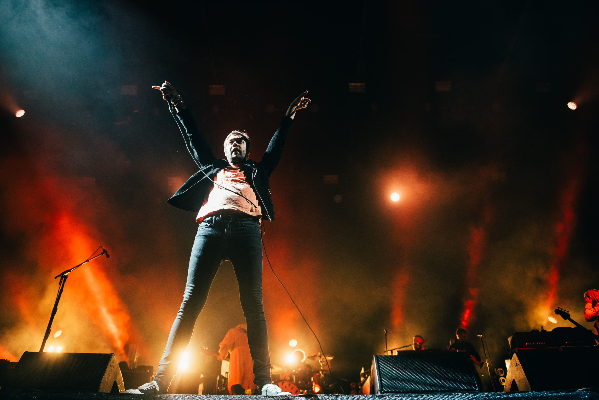 KASABIAN CLOSING FINAL DAY OF EDINBURGH'S SUMMER SESSIONS 2018 AT PRINCES STREET GARDEN'S - 18.08.2018  PICTURE BY: RYAN JOHNSTON