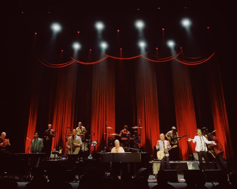 BRIAN WILSON CLOSING FINAL DAY OF EDINBURGH'S SUMMER SESSIONS 2018 - PERFORMING AT PLAYHOUSE - 19.08.2018