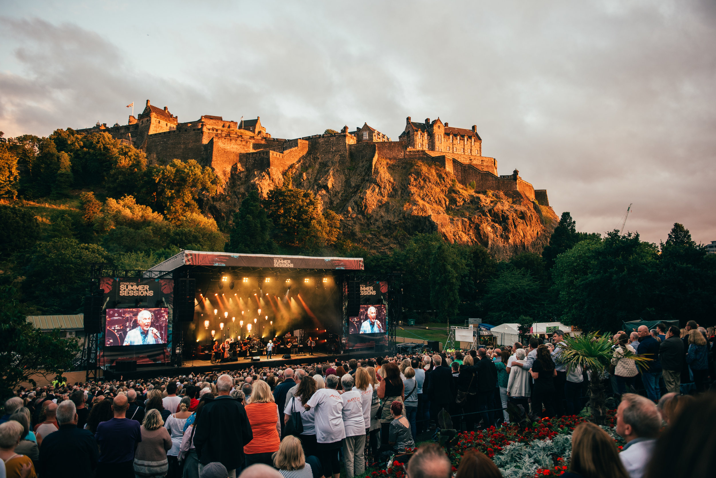 SIR TOM JONES KICKS OFF FIRST EVER EDINBURGH SUMMER SESSIONS CONCERT SERIES! - 06.08.2018  PICTURE BY: RYAN JOHNSTON
