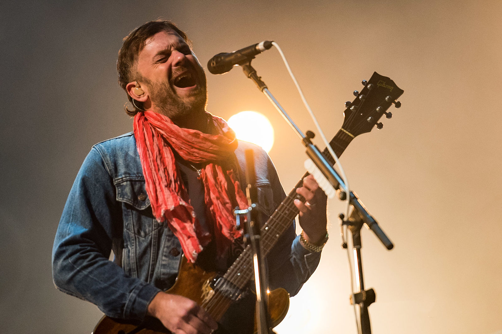 KINGS OF LEON CLOSING FIRST DAY OF LEEDS FESTIVAL 2018 - 24.08.2018  PICTURE BY: CAITLIN MOGRIDE