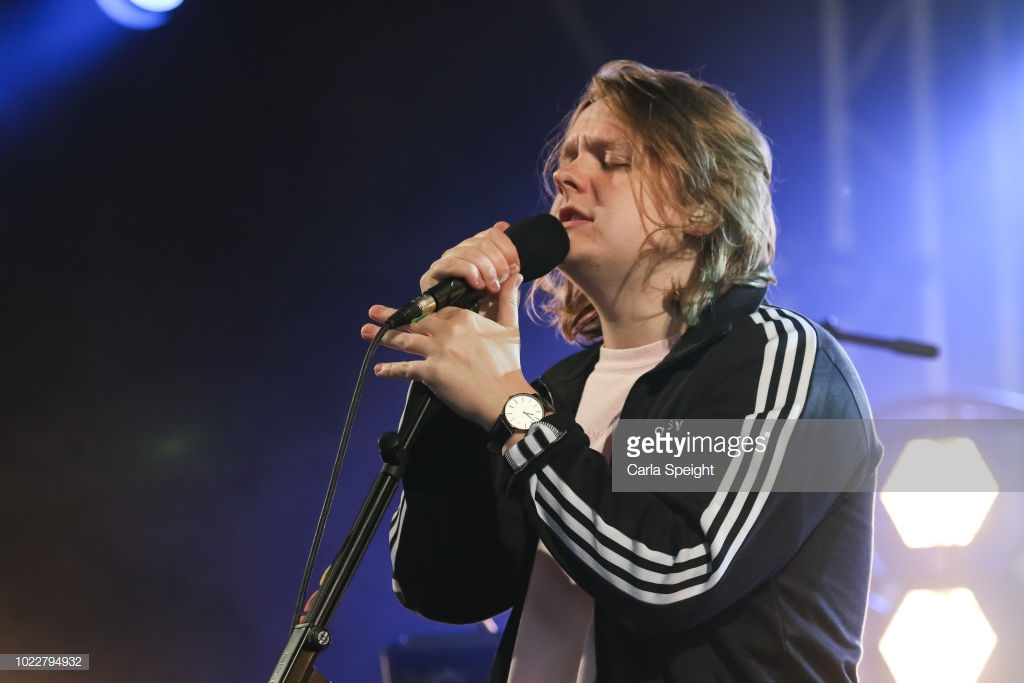 LEWIS CAPALDI STORMING FESTIVAL REPUBLIC STAGE AT LEEDS FESTIVAL 2018 - 24.08.2018  PICTURE BY: CARL SPEIGHT AT GETTY IMAGES