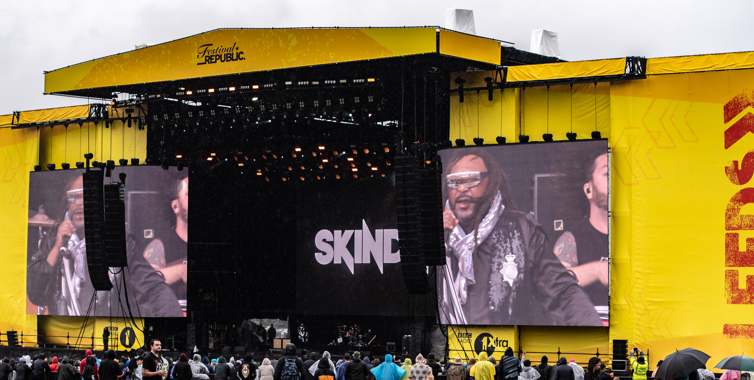 SKINDRED PERFORMING ON THE MAIN-STAGE AT THE LAST DAY OF LEEDS FESTIVAL 2018 - 26.08.2018  PICTURE BY: CALUM BUCHAN PHOTOGRAPHY