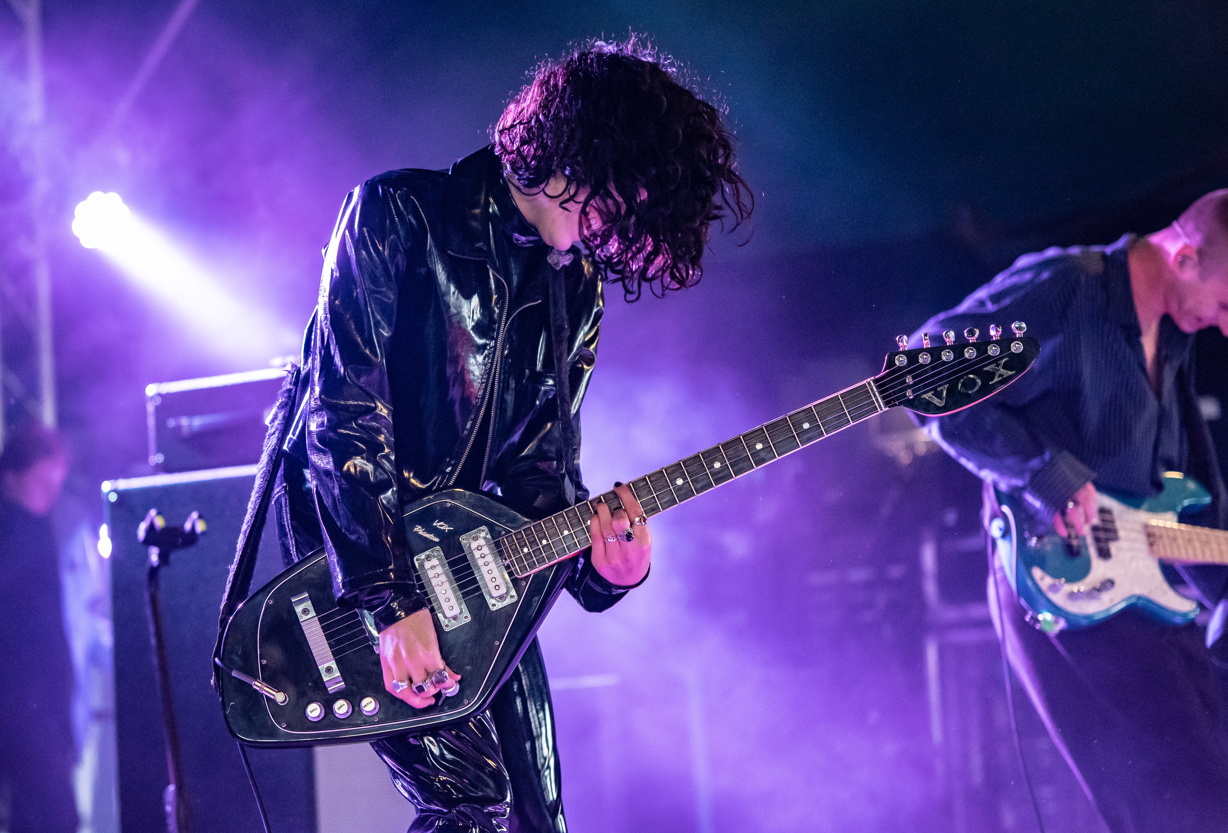 PALE WAVES PERFORMING A EXCITING SET OVER ON THE FESTIVAL REPUBLIC STAGE AT LEEDS FESTIVAL 2018 - 26.08.2018  PICTURE BY: CALUM BUCHAN PHOTOGRAPHY