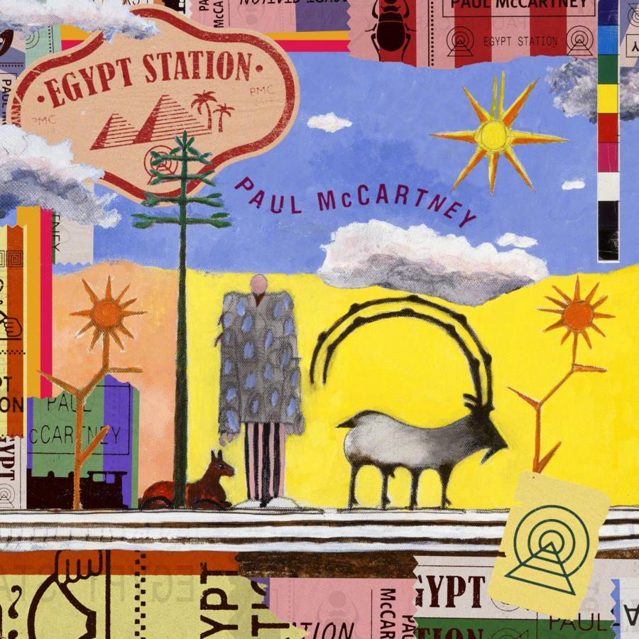 PAUL MCCARTNEY - EGYPT STATION - RELEASED FRIDAY 7TH SEPTEMBER 2018