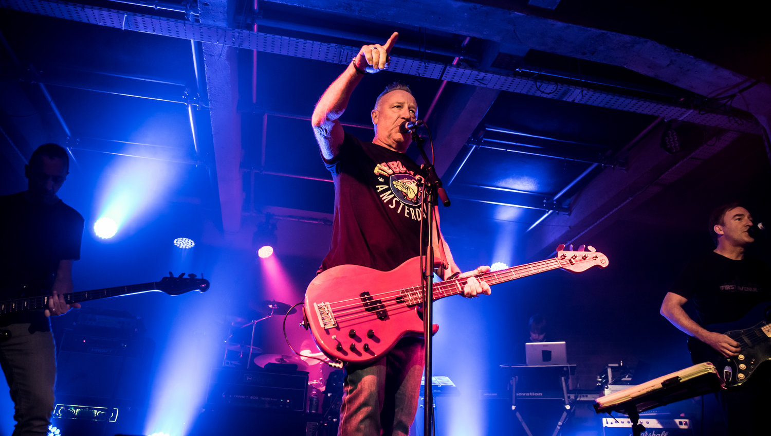 PETER HOOK & THE LIGHT PERFORMING AT GLASGOW'S SWG3 - TV STUDIO - 30.09.2018 PICTURE BY: STEPHEN WILSON PHOTOGRAPHY
