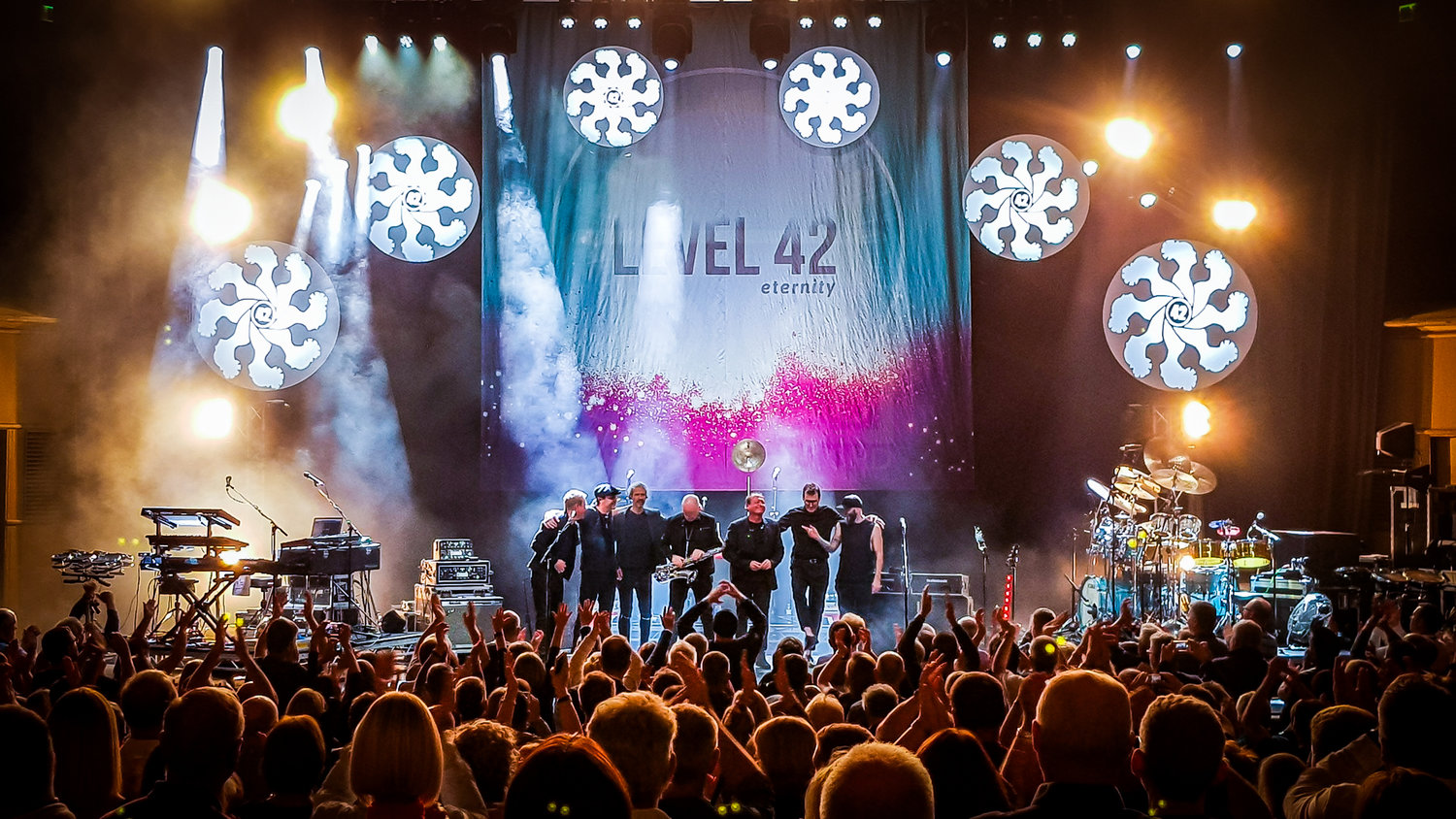LEVEL 42 PERFORMING AT GLASGOW'S ROYAL CONCERT HALL - 02.10.2018  PICTURE BY: STEPHEN WILSON PHOTOGRAPHY