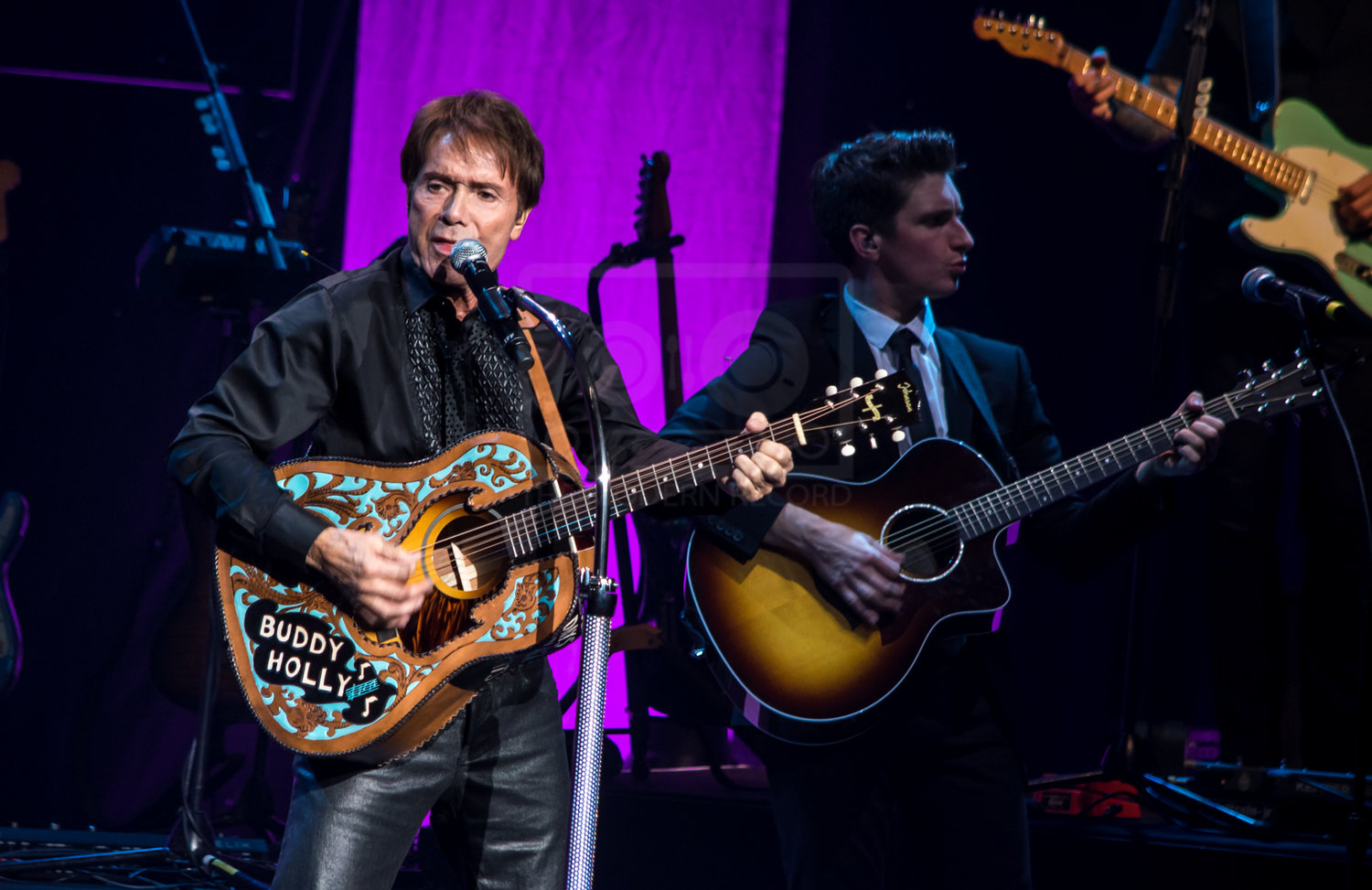 SIR CLIFF RICHARD PERFORMING AT GLASGOW'S ROYAL CONCERT HALL - AS PART OF HIS 60TH ANNIVERSARY TOUR - 05.10.2018  PICTURE BY: STEPHEN WILSON PHOTOGRAPHY