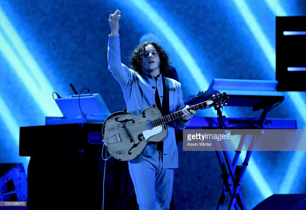 JACK WHITE   PICTURE SOURCE - GETTY IMAGES - KEVIN WINTER