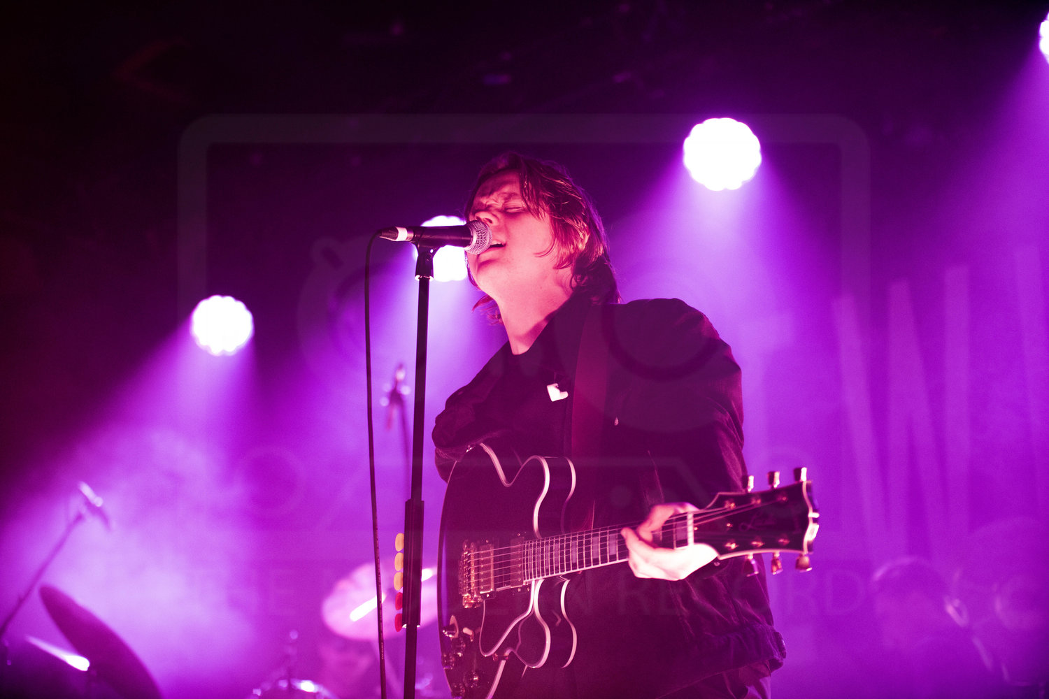 LEWIS CAPALDI AT THE BARROWLAND BALLROOM, GLASGOW - 11.11.18  PICTURE BY ALEXSANDRO COSTA