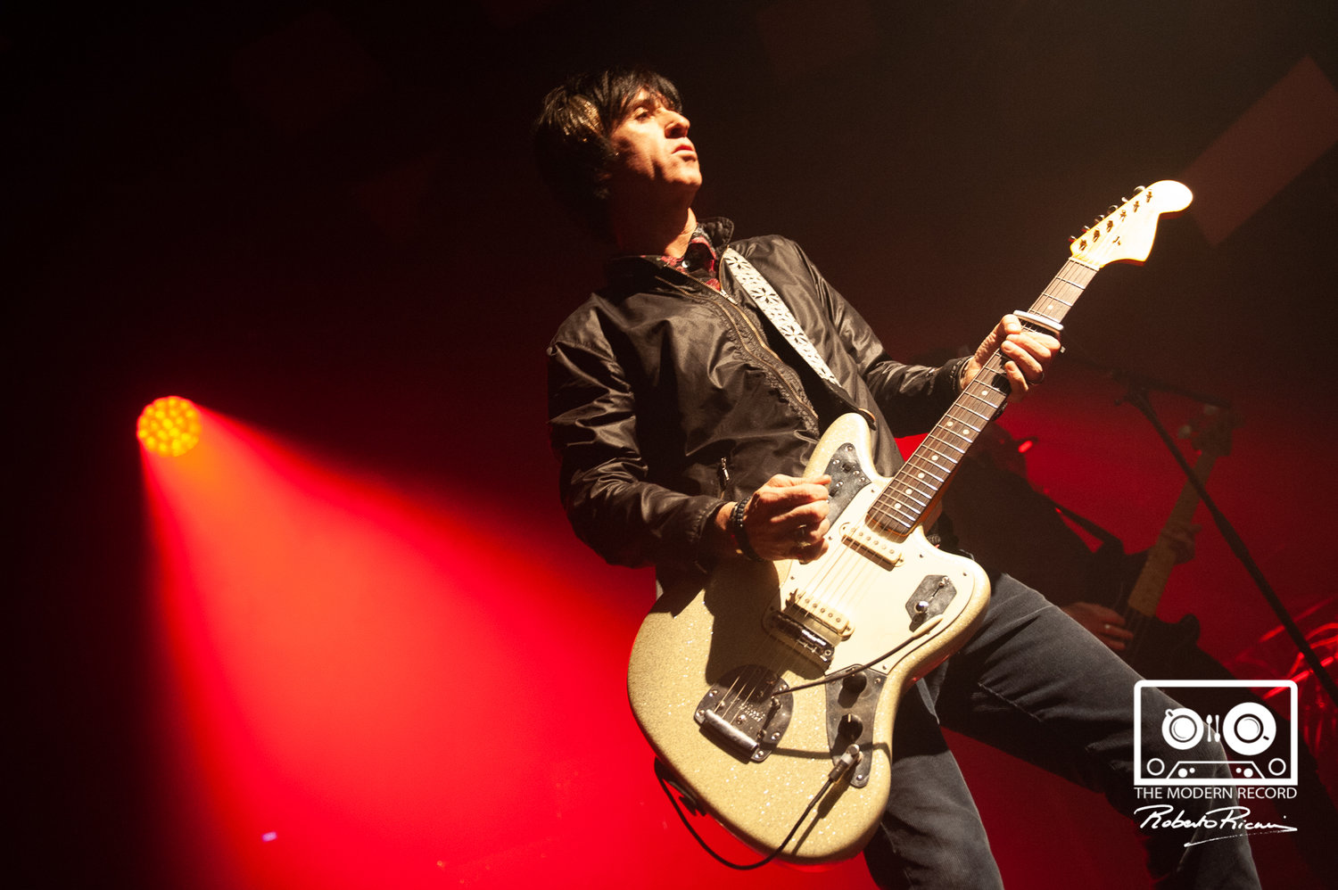 JOHNNY MARR AT THE BARROWLAND BALLROOM, GLASGOW - 15.11.18  PICTURE BY ROBERTO RICCIUTI