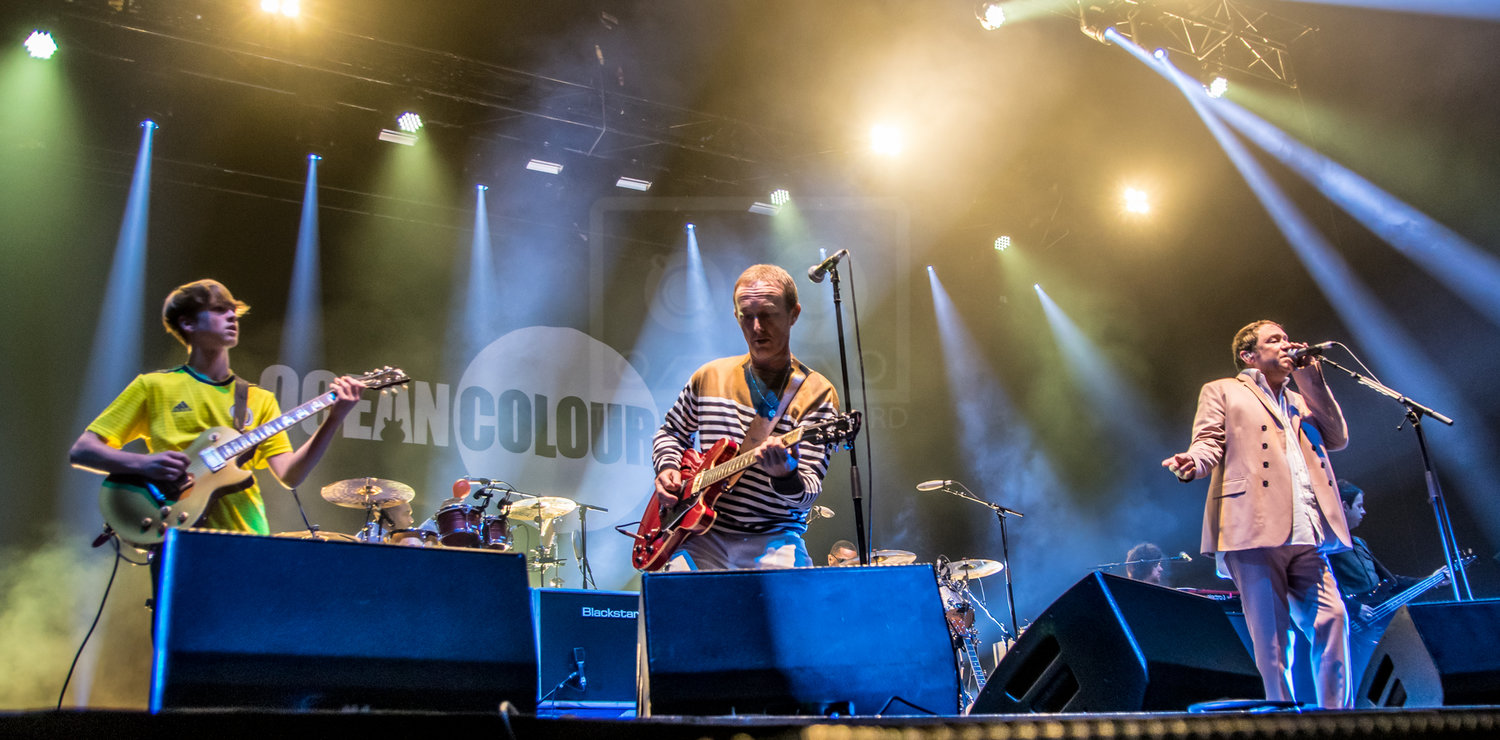OCEAN COLOUR SCENE PERFORMING AT GLASGOW'S SSE HYDRO - 08.12.2018 PICTURE BY: STEPHEN WILSON PHOTOGRAPHY