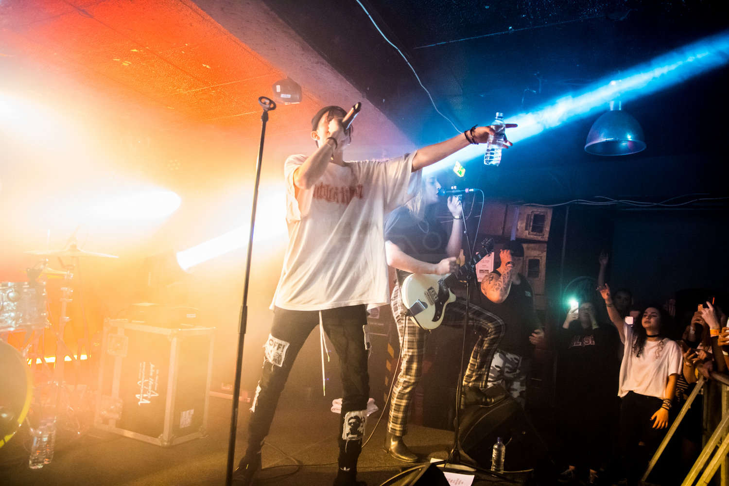 CHASE ATLANTIC PERFORMING AT GLASGOW'S KING TUT'S WAH WAH HUT - 06.12.2018 PICTURE BY: STEPHEN WILSON PHOTOGRAPHY